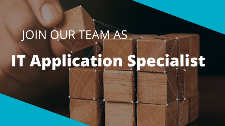 Join us as a IT Application Specialist